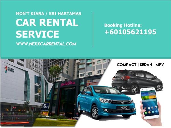 Mont Kiara / Sri Hartamas Car Rental Service